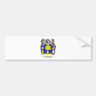 Escudo de armas de Strass (escudo de la familia) Pegatina Para Auto