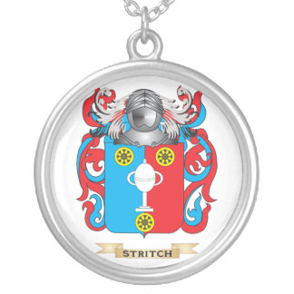 Escudo de armas de Stritch (escudo de la familia) Pendiente Personalizado