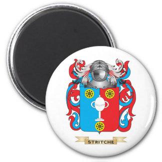 Escudo de armas de Stritche (escudo de la familia) Imán De Frigorífico
