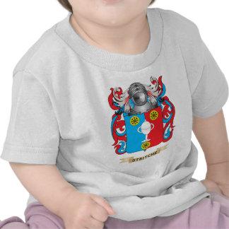 Escudo de armas de Stritche escudo de la familia Camisetas
