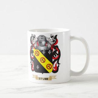 Escudo de armas de Stubb (escudo de la familia) Tazas De Café