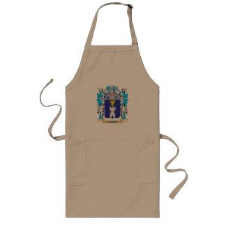 Escudo de armas de Suares - escudo de la familia Delantal Largo