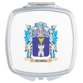 Escudo de armas de Suares - escudo de la familia Espejos Para El Bolso
