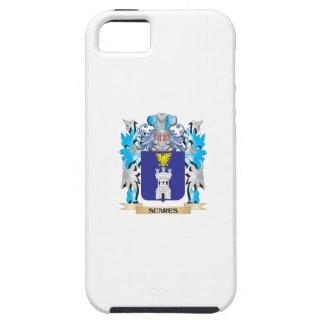 Escudo de armas de Suares - escudo de la familia iPhone 5 Cárcasas