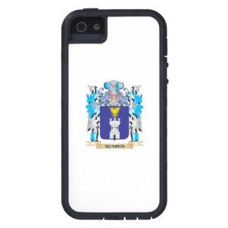 Escudo de armas de Suares - escudo de la familia iPhone 5 Coberturas