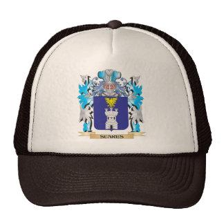 Escudo de armas de Suares - escudo de la familia Gorro De Camionero