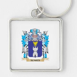 Escudo de armas de Suares - escudo de la familia Llavero Personalizado