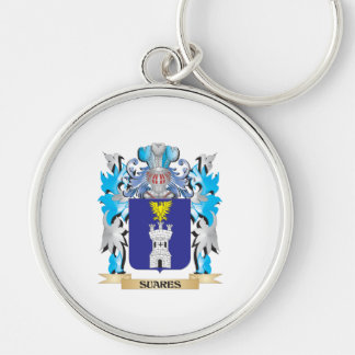 Escudo de armas de Suares - escudo de la familia Llaveros Personalizados
