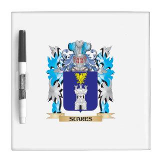 Escudo de armas de Suares - escudo de la familia Pizarras Blancas