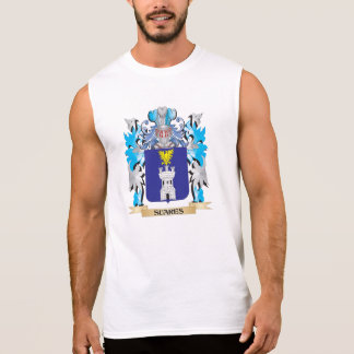 Escudo de armas de Suares - escudo de la familia Camiseta Sin Mangas
