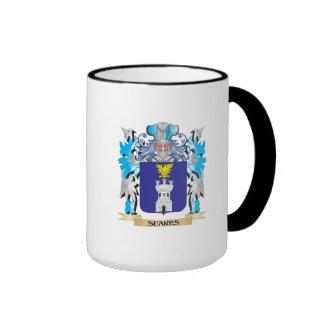 Escudo de armas de Suares - escudo de la familia Taza De Café