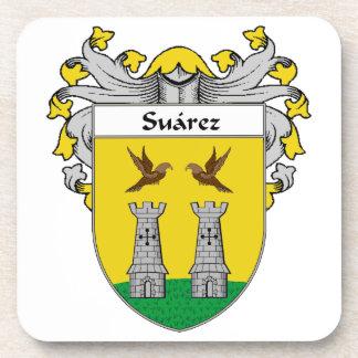 Escudo de armas de Suárez/escudo de la familia Posavasos