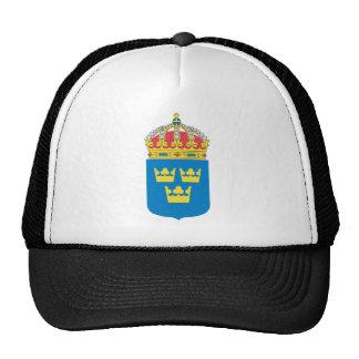 Escudo de armas de Suecia (menos) Gorro De Camionero