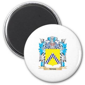 Escudo de armas de Sugg - escudo de la familia Imán De Frigorífico