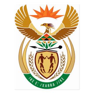 Escudo de armas de Suráfrica Tarjeta Postal