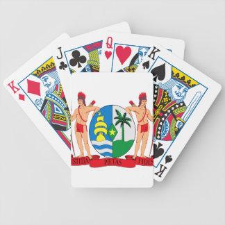 Escudo de armas de Suriname Baraja Cartas De Poker