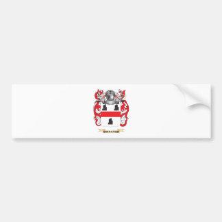 Escudo de armas de Swanton (escudo de la familia) Pegatina De Parachoque