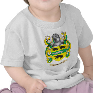 Escudo de armas de Sweeney escudo de la familia Camisetas
