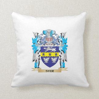 Escudo de armas de Syer - escudo de la familia Cojines