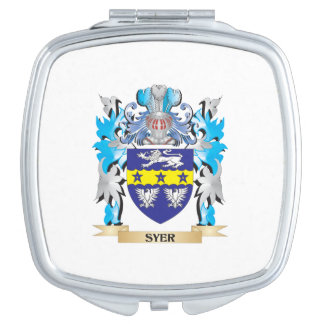 Escudo de armas de Syer - escudo de la familia Espejo Para El Bolso