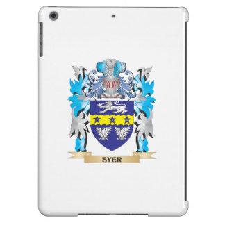 Escudo de armas de Syer - escudo de la familia Funda Para iPad Air