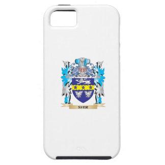 Escudo de armas de Syer - escudo de la familia iPhone 5 Funda