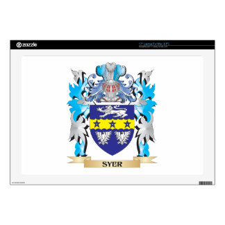 Escudo de armas de Syer - escudo de la familia Portátil Skin