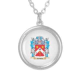 Escudo de armas de Symes - escudo de la familia Grimpolas Personalizadas