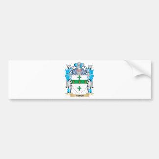 Escudo de armas de Taber - escudo de la familia Pegatina De Parachoque