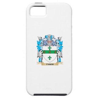 Escudo de armas de Taber - escudo de la familia iPhone 5 Funda