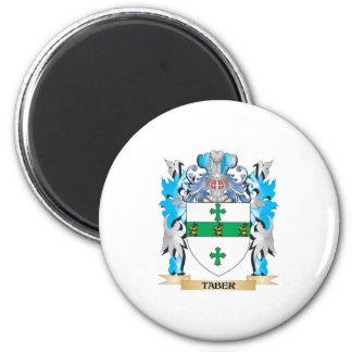 Escudo de armas de Taber - escudo de la familia Imán De Frigorífico