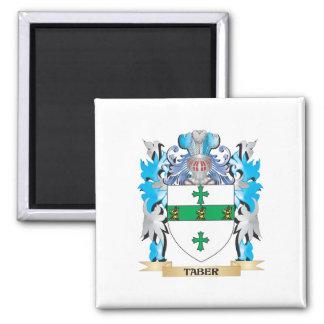 Escudo de armas de Taber - escudo de la familia Imanes Para Frigoríficos