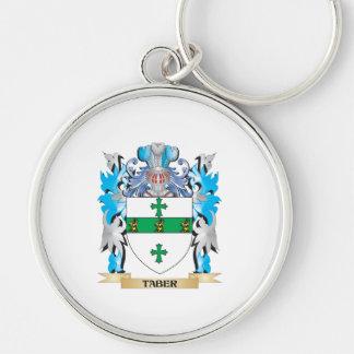 Escudo de armas de Taber - escudo de la familia Llavero Personalizado
