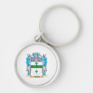 Escudo de armas de Taber - escudo de la familia Llaveros Personalizados