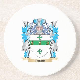 Escudo de armas de Taber - escudo de la familia Posavasos Manualidades