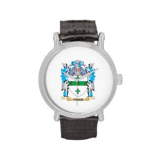 Escudo de armas de Taber - escudo de la familia Reloj