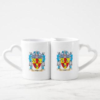 Escudo de armas de Tait - escudo de la familia Taza Para Enamorados