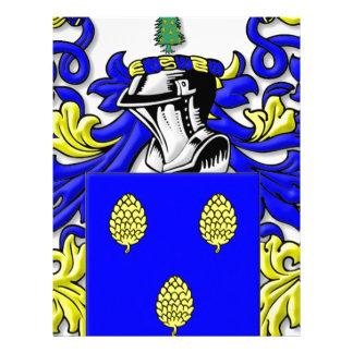 Escudo de armas de Tannehill Membretes Personalizados