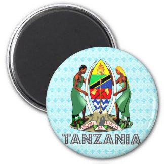 Escudo de armas de Tanzania Imán Para Frigorifico