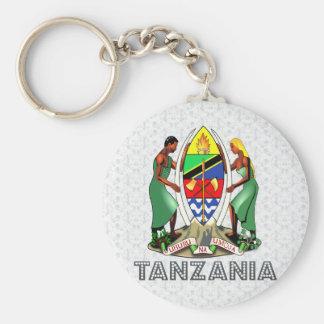 Escudo de armas de Tanzania Llaveros Personalizados