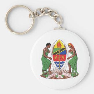 Escudo de armas de Tanzania Llavero Personalizado