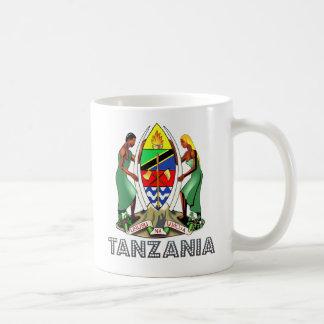 Escudo de armas de Tanzania Taza