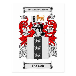 Escudo de armas de Taylor Postales