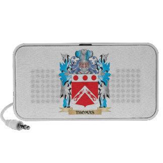 Escudo de armas de Thomas - escudo de la familia iPhone Altavoz