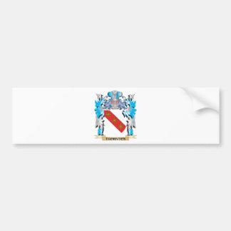 Escudo de armas de Thornton - escudo de la familia Pegatina Para Coche