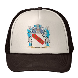 Escudo de armas de Thornton - escudo de la familia Gorros Bordados