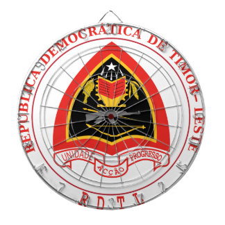 Escudo de armas de Timor Oriental Tabla Dardos