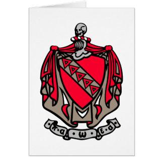Escudo de armas de TKE Tarjeta