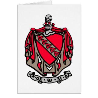 Escudo de armas de TKE Felicitaciones