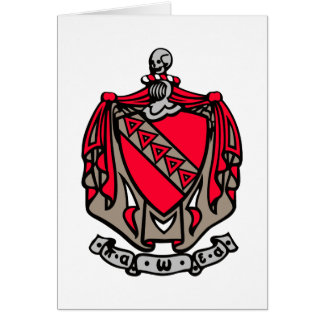 Escudo de armas de TKE Tarjeta Pequeña